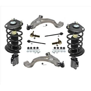 100% New FRONT Complete Coil Spring Struts For Non Electronic 98-04 Seville 10Pc