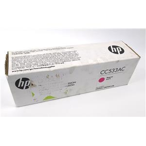 NEW Genuine HP CC33AC Magenta Toner Cartridge Laserjet CP2025 CM2320 mfp