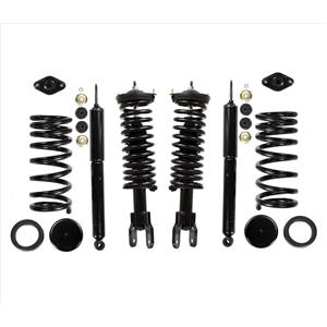 FRONT & REAR New Coil Spring Conversion Kit Fits for Lincoln Mark VIII 1994-1998