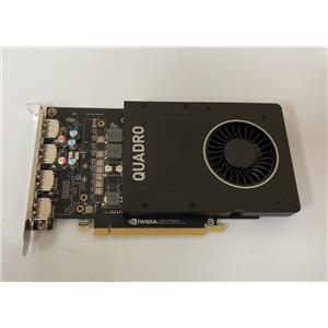 HP NVIDIA Quadro P2000 5GB GDDR5 160-bit PCI Express Graphics Card  942637-001
