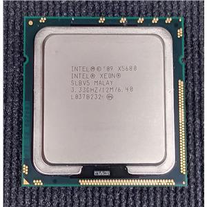 Intel Xeon X5680 3.33GHz 12MB 6.40GT/s SLBV5 Hexa-Core Hyper Thread CPU LGA1366