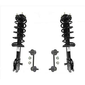 Front Quick Coil Spring Strut Mount Assembly Sway Bar Links for 07-12 Mazda CX7