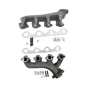 Exhaust Manifolds Left Right WGaskets For 1988-1996 Ford F150 Bronco 5.8L Engine