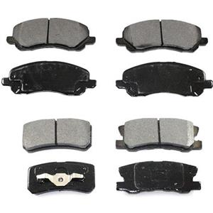 Fits 07-16 Jeep Compass W 302MM Rear Rotors Front & Rear Ceramic Brake Disc Pads