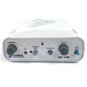 Louroe Electronics LE-001/AP-1TB Single Zone Audio Monitoring Base Station