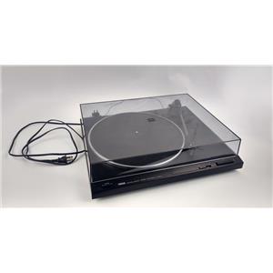 Yamaha TT-300U Natural Sound Stereo Turntable Black PN:SGTB169-1 Good Condition
