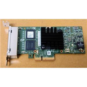 Dell Intel i350-T4 Quad-port 1Gb Network Ethernet Card PCI-E Low Profile T34F4