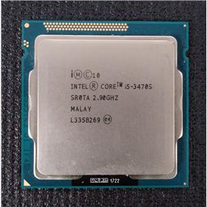 Intel Core i5-3470S Quad Core 2.9GHz 6MB Cache LGA1155 Socket Type SR0TA