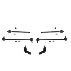 Tie Rods Sway Bar Stabilizer Links for Volvo C30 6pc 2008-2013