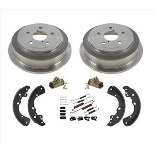 For 2006 Dodge Dakota Rear Brake Drums & Shoes Wheel Cylinders & Hardware Kit