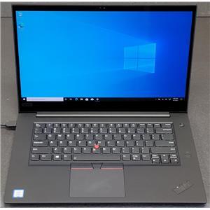 """Lenovo ThinkPad P1 15.6"""" i7-8750H 16GB 1TB SSD 4K Touchscreen Nvidia P1000"""