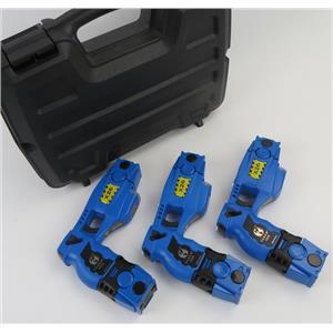 Lot of 3 FAAC / MILO Simulator X26 Police Training Tasers Batteries & Cartridges