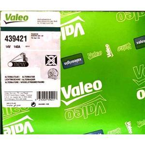 Valeo 439421 Premium 140 AMP 12V Alternator for AUDI A4 & 2004-2005 Passat 2.0L