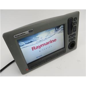 Raymarine C90W GPS Chartplotter Fishfinder Display - Missing Rotary Dial
