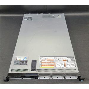 "Dell PowerEdge R630 8-Bay 2.5"" Barebones No CPU No RAM No HDD No RAID 2x495W PSU"