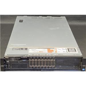 """Dell R820 8-Bay 2.5"""" Barebones No CPU No RAM No Hard Drive No RAID No PSU 4x HS"""