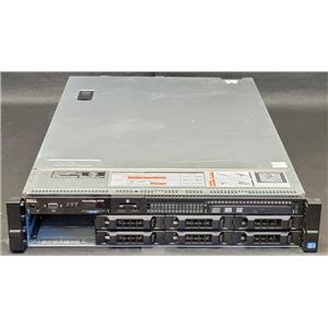 "Dell PowerEdge R720 8-Bay 3.5"" 2U Barebones 2x 750W PSU No CPU NoRAM NoHDD 2x HS"