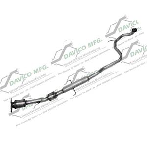 Fits 08-2012 Scion XD 1.8L Main Under Car Catalytic Converter and Extension pipe