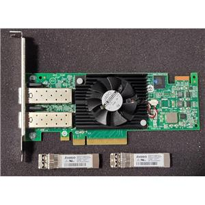 Dell F3VJ6 Emulex LightPulse LPE16002 16GB HBA w/ 2x 16GB SFPs High Profile