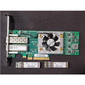 Dell Qlogic QLE2662-DEL 16GB DualPort Fibre Channel High Profile H8T43 w/ SFPs