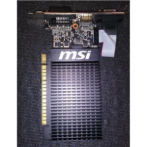 MSI 1GDH3 LP Nvidia GeForce GT 710 1GB DDR3 Low Profile Video Card HDMI DVI VGA