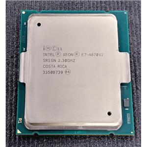 Intel Xeon E7-4870V2 SR1GN 2.3GHz 30MB 15-Core HyperThread 130W FCLGA2011 CPU