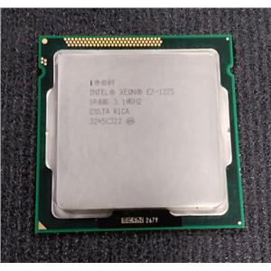 Intel Xeon E3-1225 SR00G 3.1GHz 4-Core LGA1155 CPU 6MB Cache 95 Watt