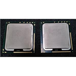 Lot of 2 Intel Xeon X5670 SLBV7 2.93GHz Six Core LGA1366  CPU Processor Lot of 2