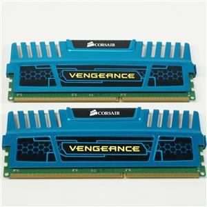 Corsair 8GB (2x4GB Kit) UDIMM 1600 MHz PC3-12800 DDR3 Memory (CMZ4GX3M4A1600C9B)