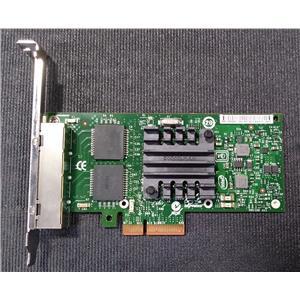 Intel Ethernet Quad-Port Adapter i340-T4 E1G44HTBLK E1G44HT High Profile Bracket