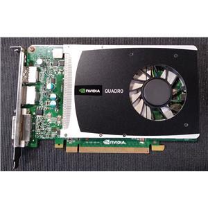 PNY VCQ2000-T NVIDIA Quadro 2000 1GB Graphic Card Dual DisplayPort DVI