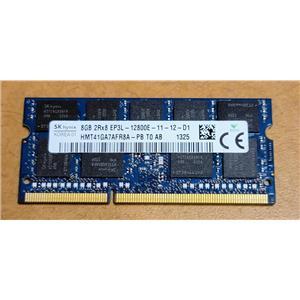 Hynix 8GB 2Rx8 EP3L-12800E DDR3 1600MHz Unbuffered SODIMM HMT41GA7AFR8A-PB