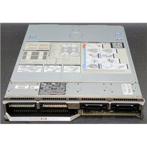 """Dell PowerEdge M820 Barebones 4x 2.5"""" 4x Heatsinks 1x 2H47D 1x JVFVR 1x 5027G"""