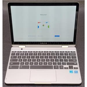 """Samsung 12.2"""" Chromebook Plus XE520QAB Intel Celeron 3965Y 4GB 32GB Chrome OS"""