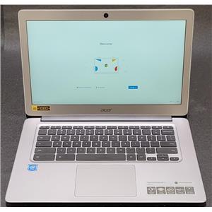 """Acer 14"""" Chromebook Intel Celeron N3160 1.6GHz 4GB 32GB ChromeOS CB3-431-C3WS"""