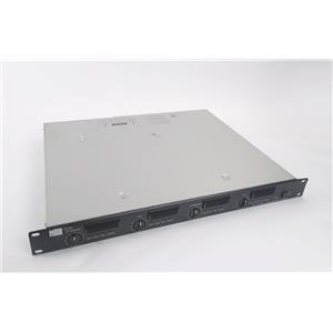 TOA DA-250FH CU 4-Channel 250W 1U Rackmount  Power Amplifier - WORKING