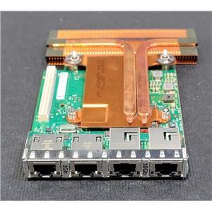 Dell Intel Ethernet X540 Quad Port 10G + I350 1G Network Daughter Card P71JP