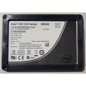 """Intel SSD 520 Series SSDSC2CW480A3 480GB SATA III 6.0Gbps SSD 2.5"""""""