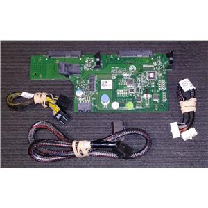 """Dell Poweredge R730xd 2x 2.5"""" SFF Rear Backplane 2.5"""" for R730xd NHDXG w/ Cables"""