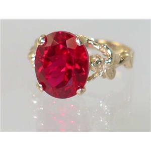 R154, Created Ruby, Gold Angel Ring