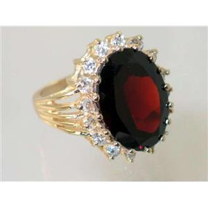 R270, Mozambique Garnet, Gold Ring