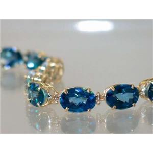 B005, Neptune Garden Topaz Bracelet