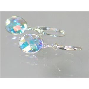 SE101, Mercury Mist Topaz, 925 Sterling Silver Earrings