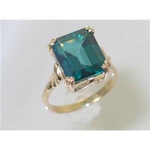 R188, Paraiba Topaz, Gold Ring