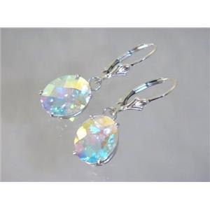 SE207, Mercury Mist Topaz, 925 Sterling Silver Earrings
