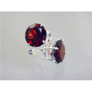 Mozambique Garnet, 925 Sterling Silver Earrings, SE212