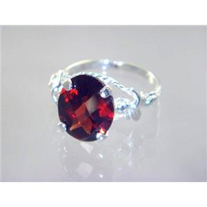 Mozambique Garnet, 925 Sterling Silver Ring, SR154