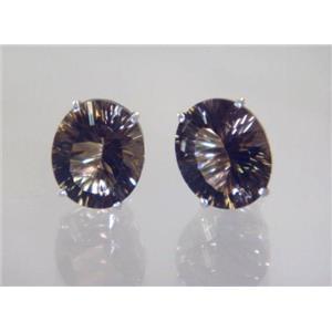 Smoky Quartz, 925 Sterling Silver Earrings, SE202,