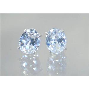 Cubic Zirconia, 925 Sterling Silver Earrings, SE102