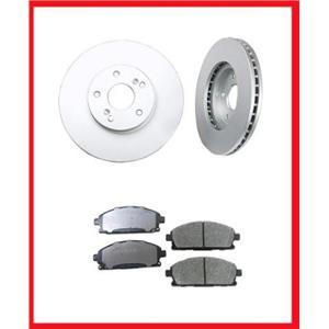 2003-2006 Acura MDX (2) Front  Brake Rotors & Ceramic Pads 31275 CD855